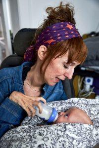 Mor med baby